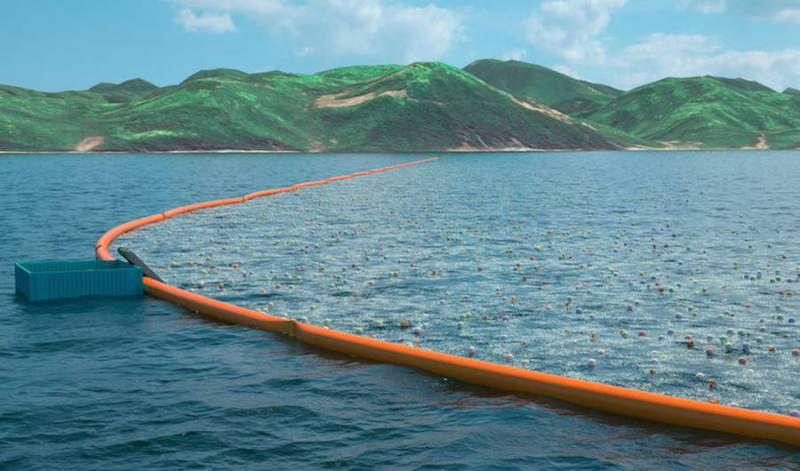 Ocean Plastic Cleaning System2